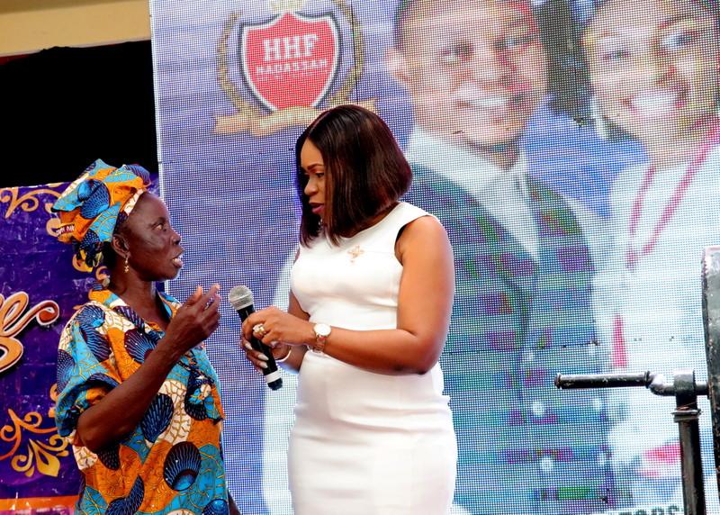 Wellness For Life winner with Wellness Executive Director