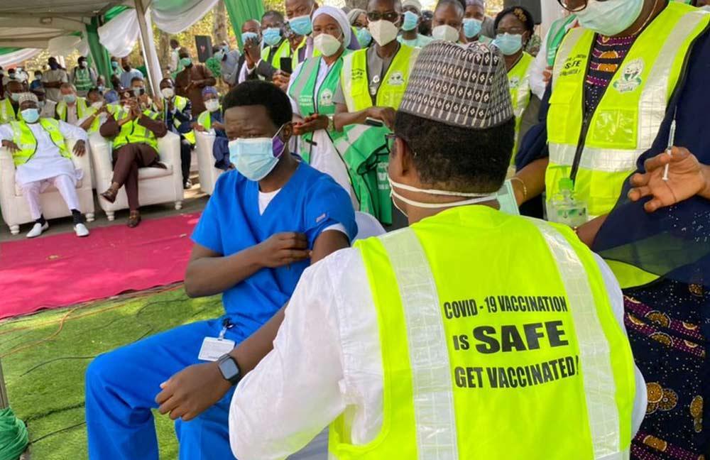 COVID vaccine in Nigeria