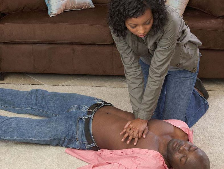 how to give CPR
