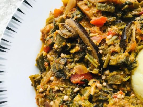 Okra and Snail